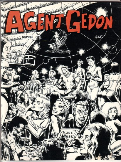 AGENT GEDON #1 minicomic fanzine JOE ZABEL William Messner-Loebs 1980