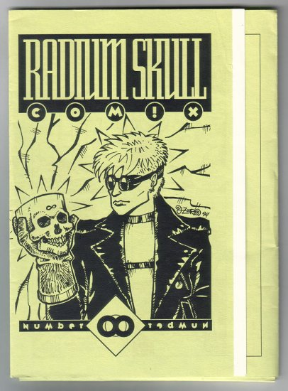 RADIUM SKULL COMIX mini-comic set JOHN ZERO 1994