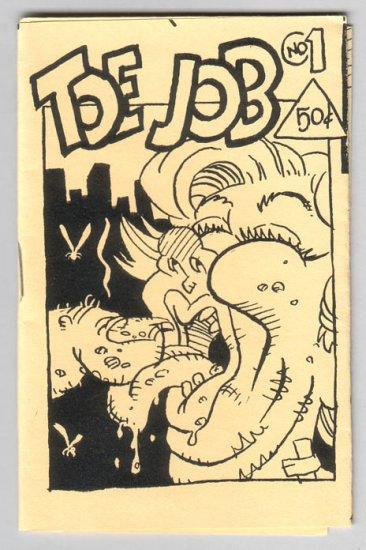 TOE JOB & OBESE HIPSTER mini-comics lot of 2 WALT HOLCOMBE Tom King 1994