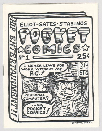 POCKET COMICS #1-5 + bonus minicomic VICTOR GATES