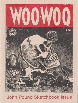 WOO-WOO #1 mini-comic JOHN POUND 1996