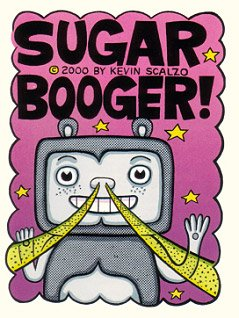 SUGAR BOOGER mini-comic KEVIN SCALZO 2000