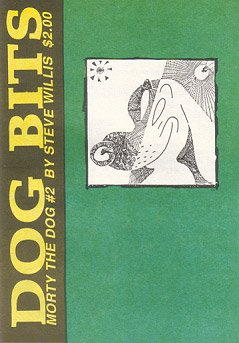DOG BITS mini-comic STEVE WILLIS 1990