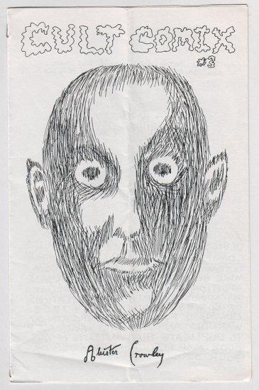 CULT COMIX #3 mini-comix JEFF GAITHER Jim Ryan MIKE HILL 1986