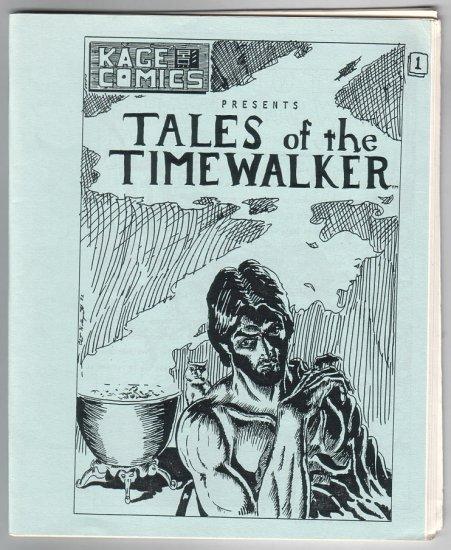 TALES OF THE TIMEWALKER #1 mini-comic STEVE WILLIS Clint Hollingsworth 1984