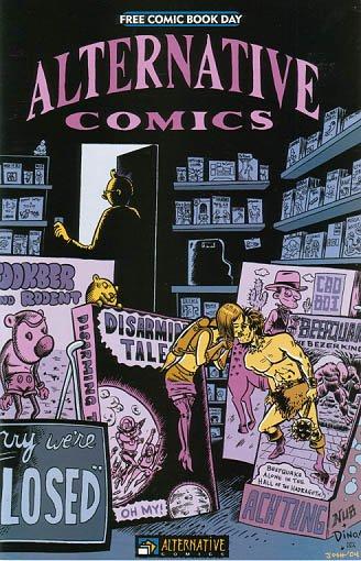 ALTERNATIVE COMICS #2 James Kochalka DEAN HASPIEL Sam Henderson FCBD 2004