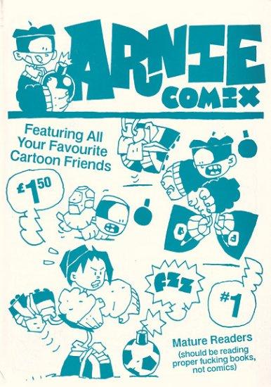 ARNIE COMIX #1 mini-comix mag SIMON GANE 1995