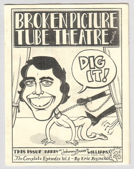 BROKEN PICTURE TUBE THEATRE mini-comic ERIC REYNOLDS 1994 signed