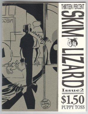 SKIM LIZARD #2 mini-comic FAWN GEHWEILER Tamir Shafir 1993