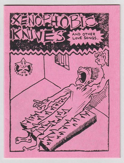XENOPHOBIC KNIVES #1 mini-comic STEVE WILLIS 1985