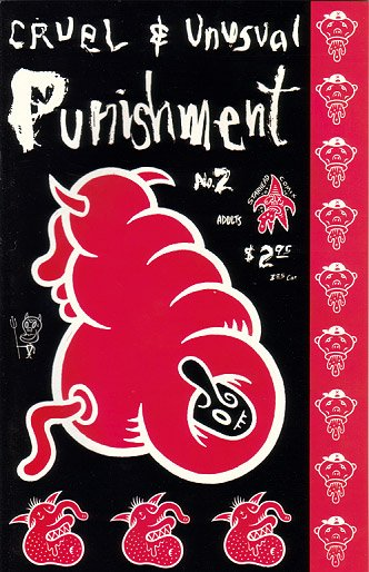 CRUEL AND UNUSUAL PUNISHMENT #2 comix IVAN BRUNETTI Dennis Worden VALIUM 1994