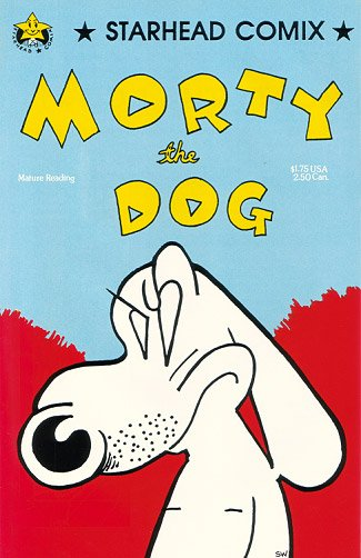 MORTY THE DOG #1 comix STEVE WILLIS 1987