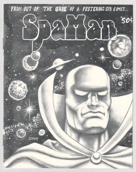 SPAMAN #5 mini-comic MIKE CODY Al Greenier 1987