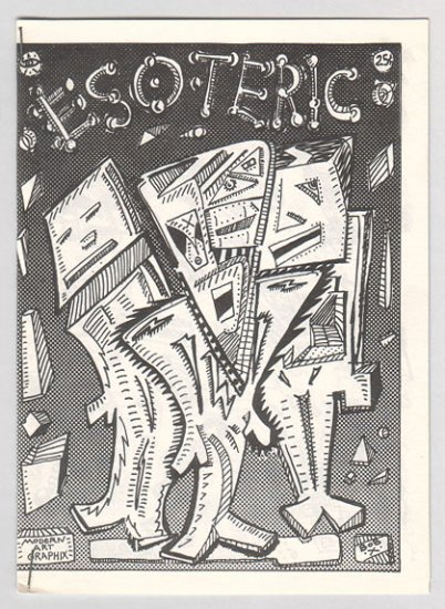 ESOTERIC mini-comix BOB X ugly art brut 1980s signed and numbered