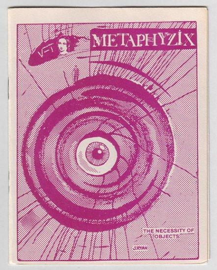 METAPHYZIX mini-comix STEVE WILLIS Dale Luciano ANDY NUKES 1986