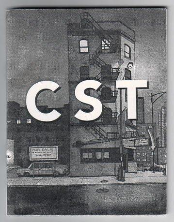 CST mini-comic JORGE COLOMBO 1994 Ganzfeld