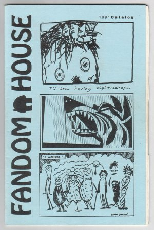 FANDOM HOUSE minicomics catalog 1991 small press comics