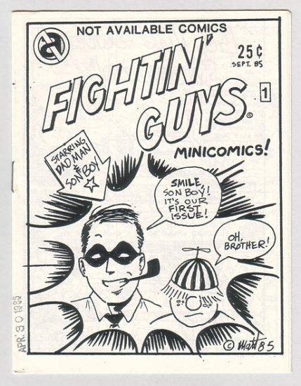 FIGHTIN' GUYS #1 mini-comic MATT FEAZELL 1985