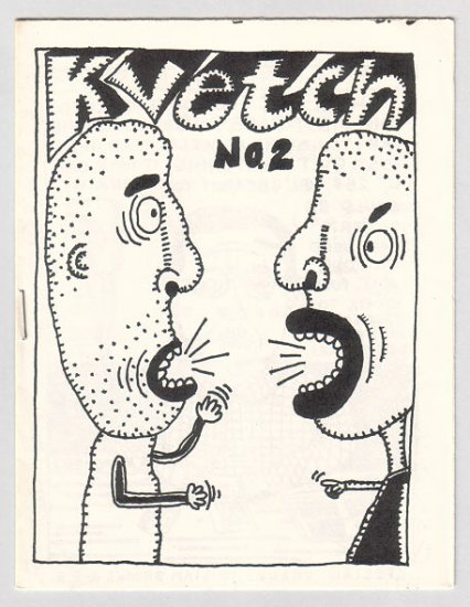 KVETCH #2 mini-comic JIM CONATSER 1988 comix