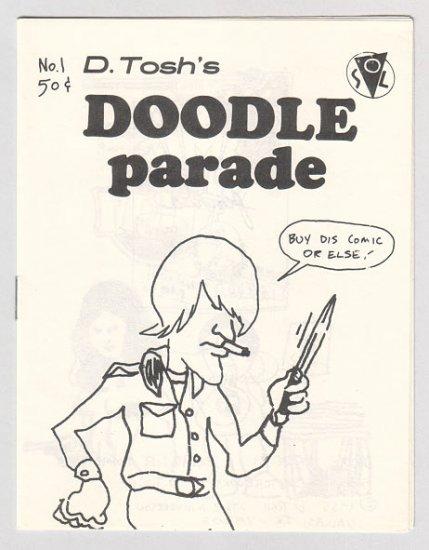 DOODLE PARADE #1 mini-comic D. TOSH 1985 comix