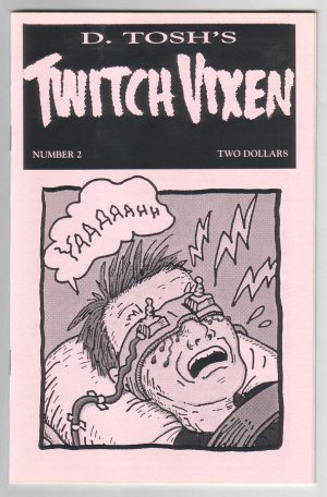 TWITCH VIXEN #2 mini-comic D. TOSH 1994 TV comix