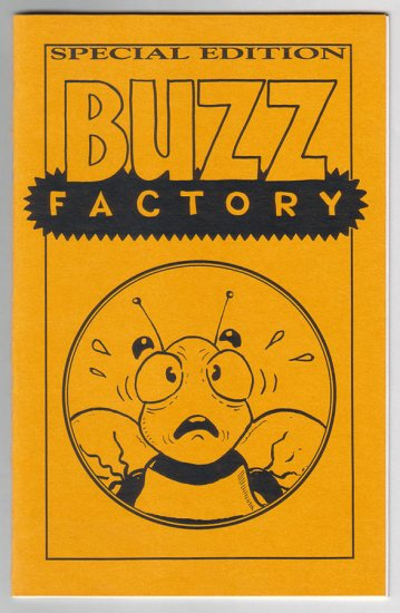 BUZZ FACTORY mini-comic D. TOSH Mark Stokes 1994 comix