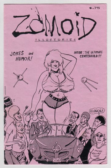 ZOMOID ILLUSTORIES #29 mini-comic DOUG HOLVERSON 1986