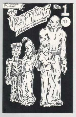 THE VERMINS #1 mini-comic BOB SHERIDAN 1985