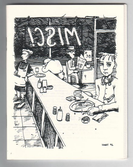 MISC #38 mini-comic JIM SIERGEY Matt Feazell GARY FIELDS 1992