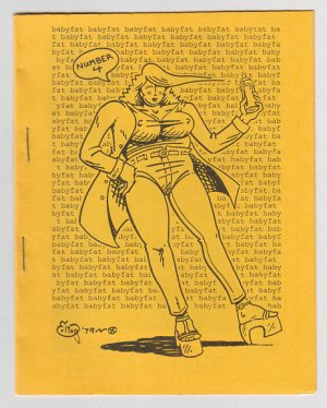 BABYFAT #4 mini-comic GRASS GREEN George Erling 1979 underground comix