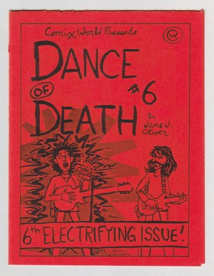 DANCE OF DEATH #6 mini-comic JANE J. OLIVER Brad Foster 1983 underground comix
