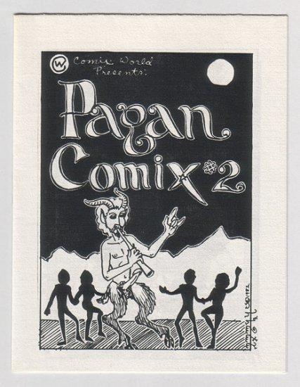 PAGAN COMIX #2 mini-comic JANE J. OLIVER 1982 underground comix