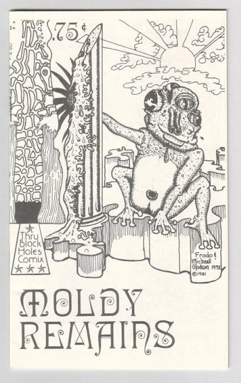 MOLDY REMAINS mini-comic MICHAEL RODEN Brad Foster 1981 underground comix