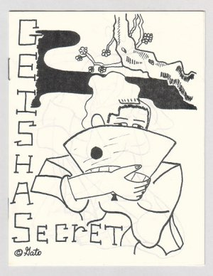 GEISHA SECRET mini-comic GATO GABRIEL 1980s signed