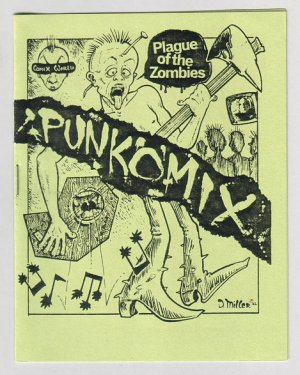 PUNKOMIX #1 minicomix DAVID MILLER Par Holman 1982