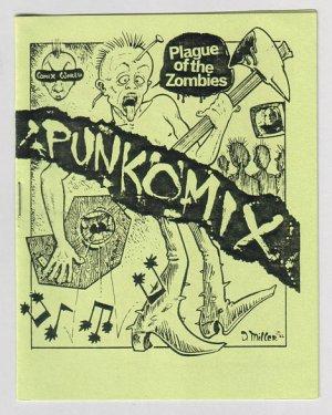 PUNKOMIX #1 minicomix DAVID MILLER Par Holman 1982