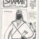 SHAMAN #41 mini-comic WILLIAM DOCKERY primitive art underground comix 1986