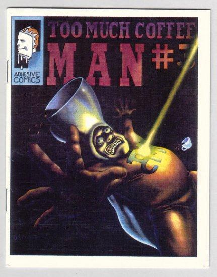 TOO MUCH COFFEE MAN #3 mini-comic SHANNON WHEELER 1991