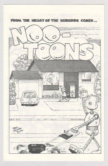 NOO-TOONS #1 mini-comix PAR HOLMAN 1979 underground comix