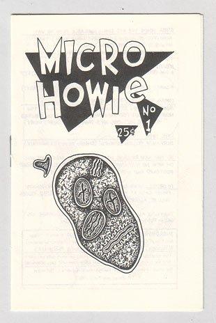MICRO HOWIE #1 mini-comic WAYNO comix 1987
