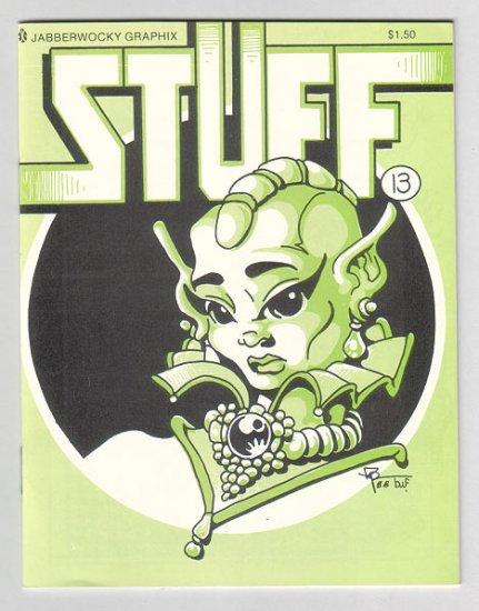 STUFF #13 minicomic DARYL HUTCHINSON Wayno EDWARD BOLMAN 1988