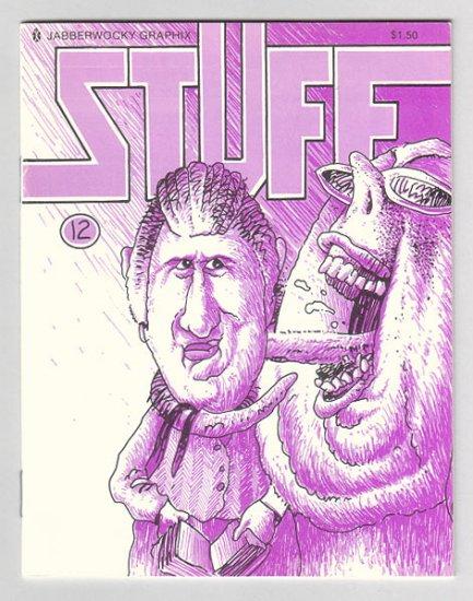 STUFF #12 mini-comic EDWARD BOLMAN Steve Willis DARYL HUTCHINSON 1988