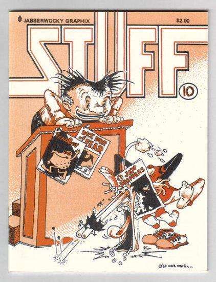 STUFF #10 mini-comic JEFF GAITHER Edward Bolman MARK MARTIN 1987