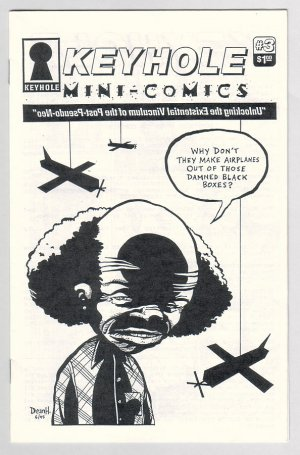 KEYHOLE #3 minicomic DEAN HASPIEL Josh Neufeld 1995