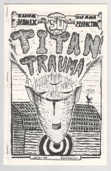 TITAN TRAUMA mini-comic Goebert-Tamsula-Dissmeyer 1981