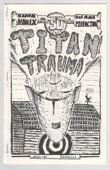 TITAN TRAUMA mini-comic Goebert-Tamsula-Dissmeyer 1981