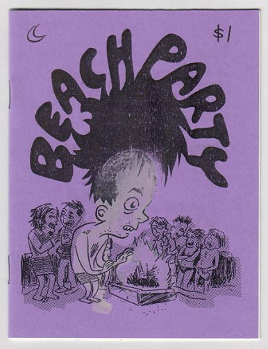 BEACH PARTY mini-comic JESSE REKLAW Alixopulos 2005
