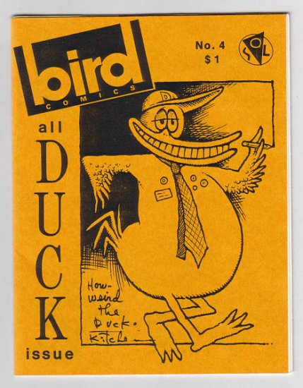 BIRD COMICS #4 mini-comix DENIS KITCHEN Wayno JEFF GAITHER 1986 Tosh file copy
