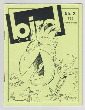 BIRD COMICS #2 mini-comic BRAD FOSTER Daryl Hutchinson 1986 Tosh file copy