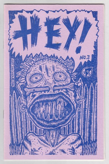 HEY #3 mini-comix JEFF GAITHER Michael Roden JOE HUTCHINSON 1986 Tosh file copy